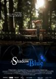 Тень синего цвета