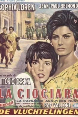 Софи Лорен и Элеонора Браун в La ciociara (1960), фото: imdb.com