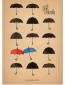 Синий зонтик
